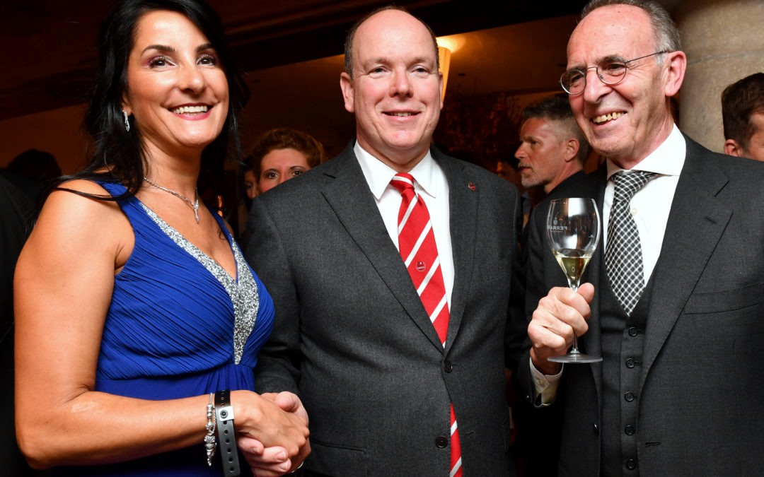 Gala dinner with Prince Albert of Monaco